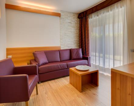 Discover the comfort and amenities of the Suites at the Best Western Hotel Adige, 4 star hotel near trento!