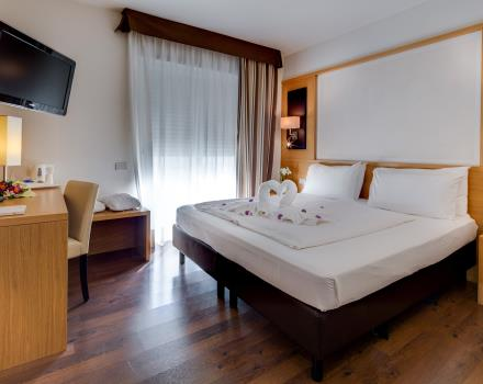 BW Hotel Adige, 4 star hotel in Trento, offers you a stay with maximum comfort: book the Suite and enjoy 4-star facilities!