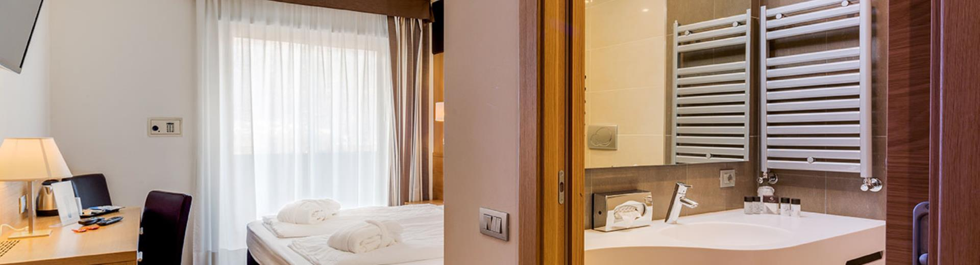 Check out the Executive Plus rooms of the Best Western Hotel Adige, 4 star hotel near Trento!