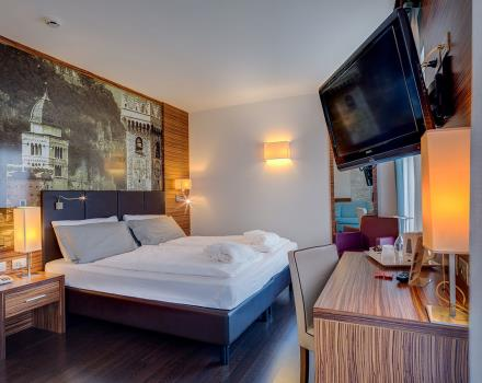 Check out the Junior Suite at the Best Western Hotel Adige, 4-star hotel near Trento!