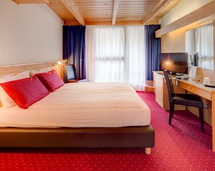 Check out the Standard rooms of 4-star Best Western Hotel Adige Trento!