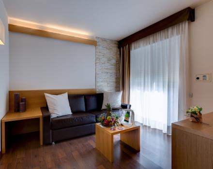 Discover the comfort of the Junior Suites at the BW Hotel Adige, 4 star hotel in Trento