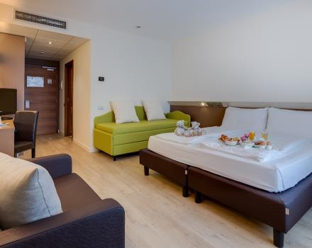 If you are travelling with family, enjoy the comfort of our rooms Family in Trent!