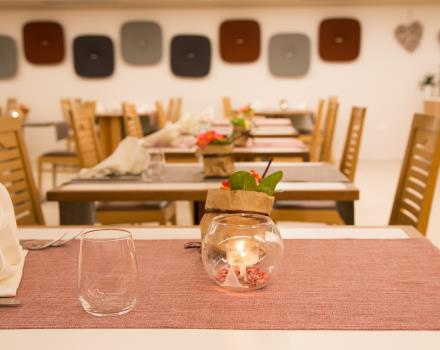 Tasty cuisine, genuine and refined in the restaurant of the 4 star Hotel Adige Trento BW!