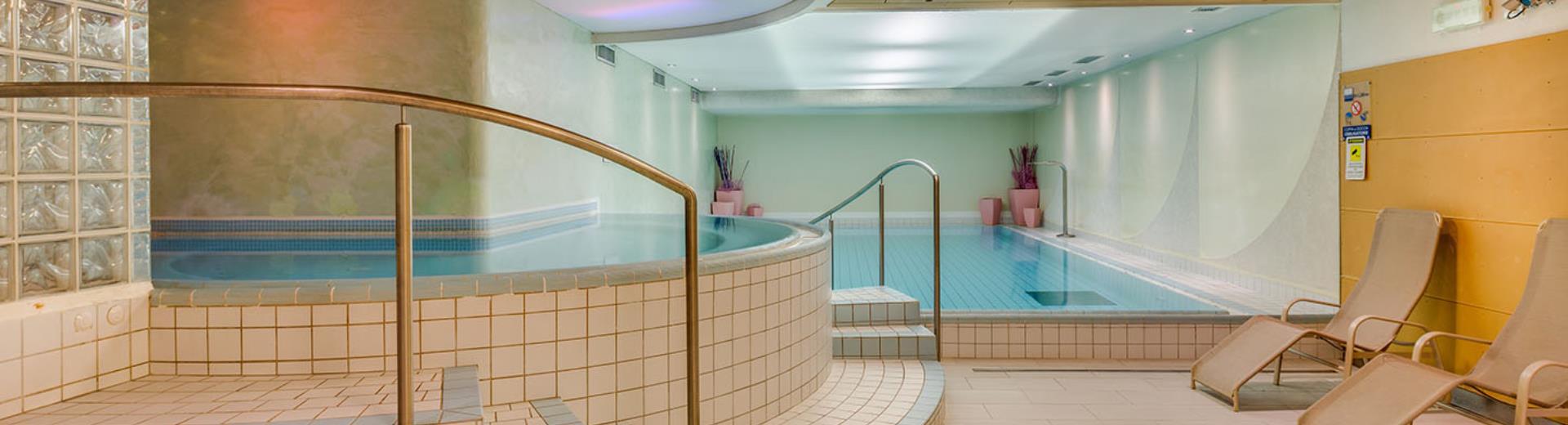 Centro benessere e fitness hotel 4 stelle Trento - Hotel Adige