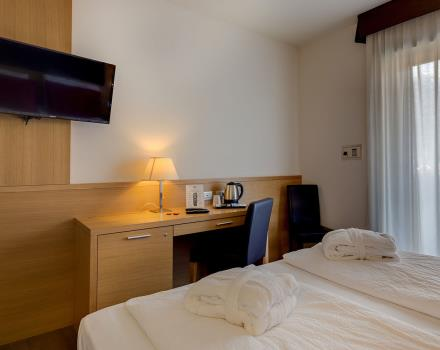 Discover the comfort of the Executive Plus rooms at Best Western Hotel Adige, 4 star hotel near Trento!