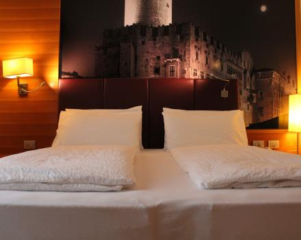 For your stay in Trento, choose junior suites of the BW Hotel Adige