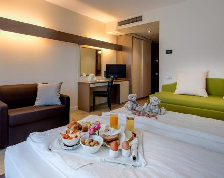 Comfort and services tailored for those travelling as a family: book BW Hotel Adige trento!