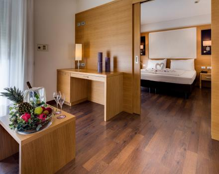 Enjoy the maximum comfort with the suites at the BW Hotel Adige trento!