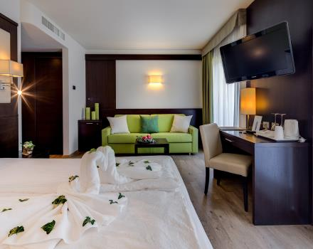 Comfortable Junior Suite at BW Hotel Adige in Trento