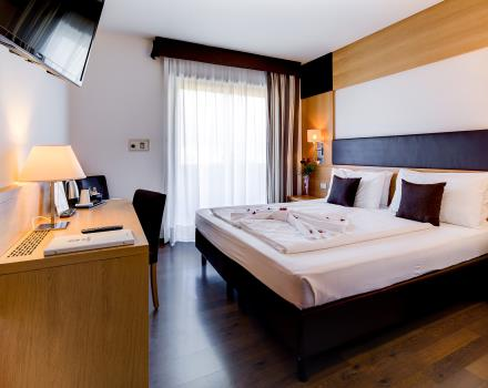 Discover the comfort of our rooms Standard: BW Hotel Adige, 4 star Trento booking!