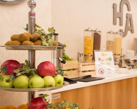 Start your day off on the right foot: enjoy breakfast at the BW Hotel Adige in Trento!