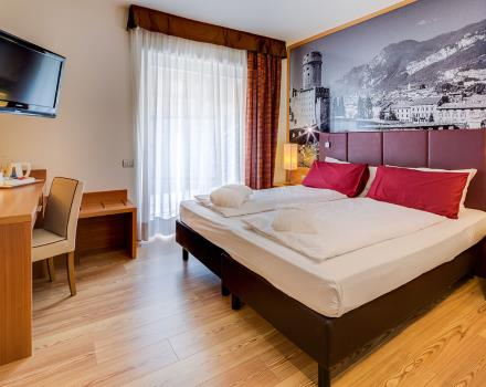 Discover suites at the Best Western Hotel Adige, 4-star near Trento!